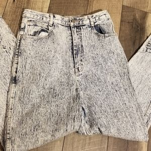 Vintage Gitano 80s acid washed skinny jeans